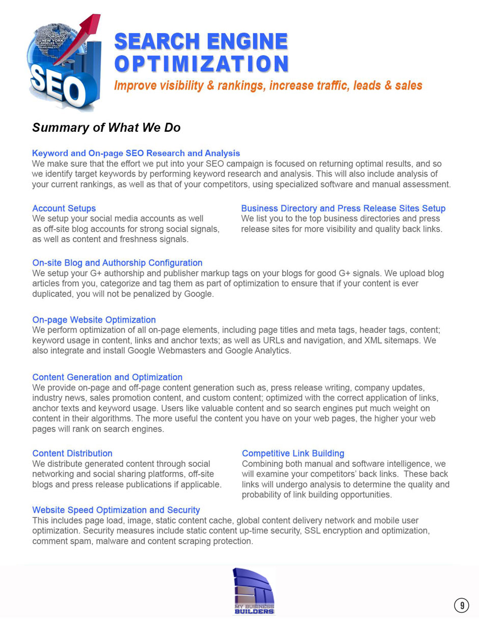 seo my business builders