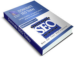 Dominate SEO Today Video Training Companion Course Manual