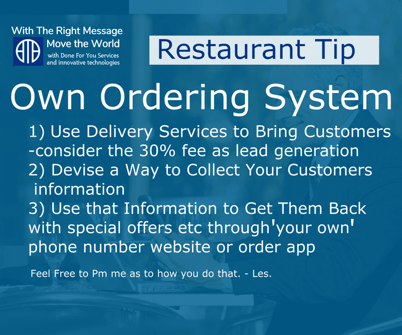 restaurant takeout tips